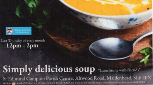 Maidenhead Soup Lunches Advert copy